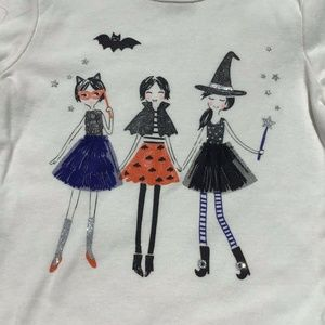 Carter's NWT Halloween  Sleeve Cheeky Whiches